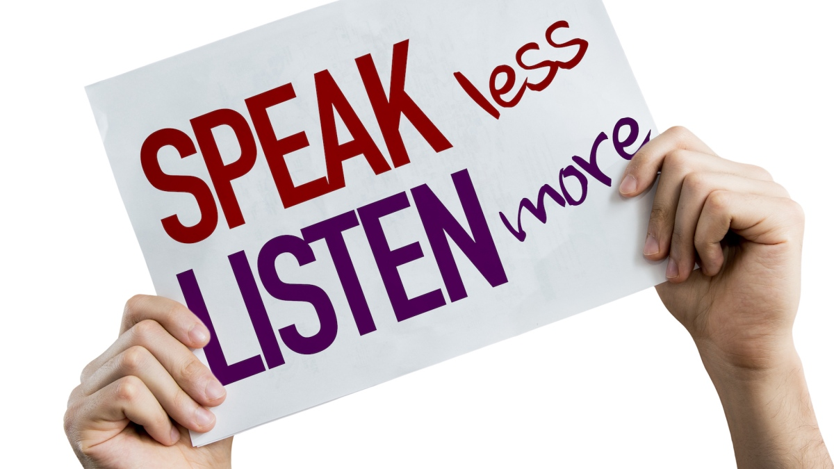 Projecting a Positive Image Through Active Listening