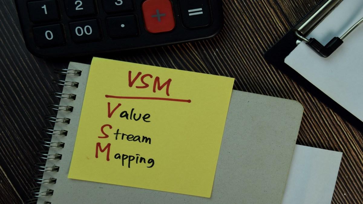 Identifying Waste in a Value StreamMap